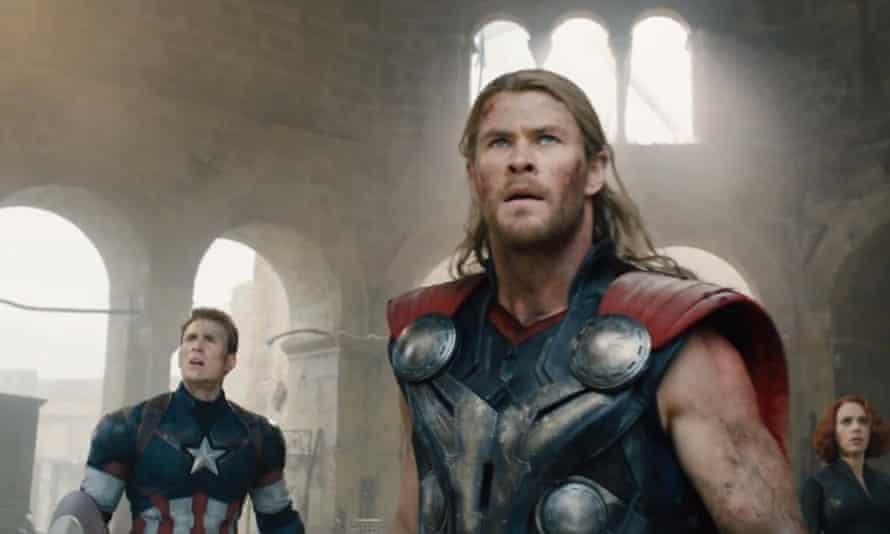 Chris Hemsworth in Avengers 2: Age Of Ultron