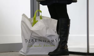 Debenhams hopes its recent launch of next-day delivery to store will bolster profits.