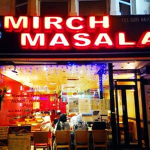 No tour of Tooting is complete without a visit to the excellent Mirch Masala.