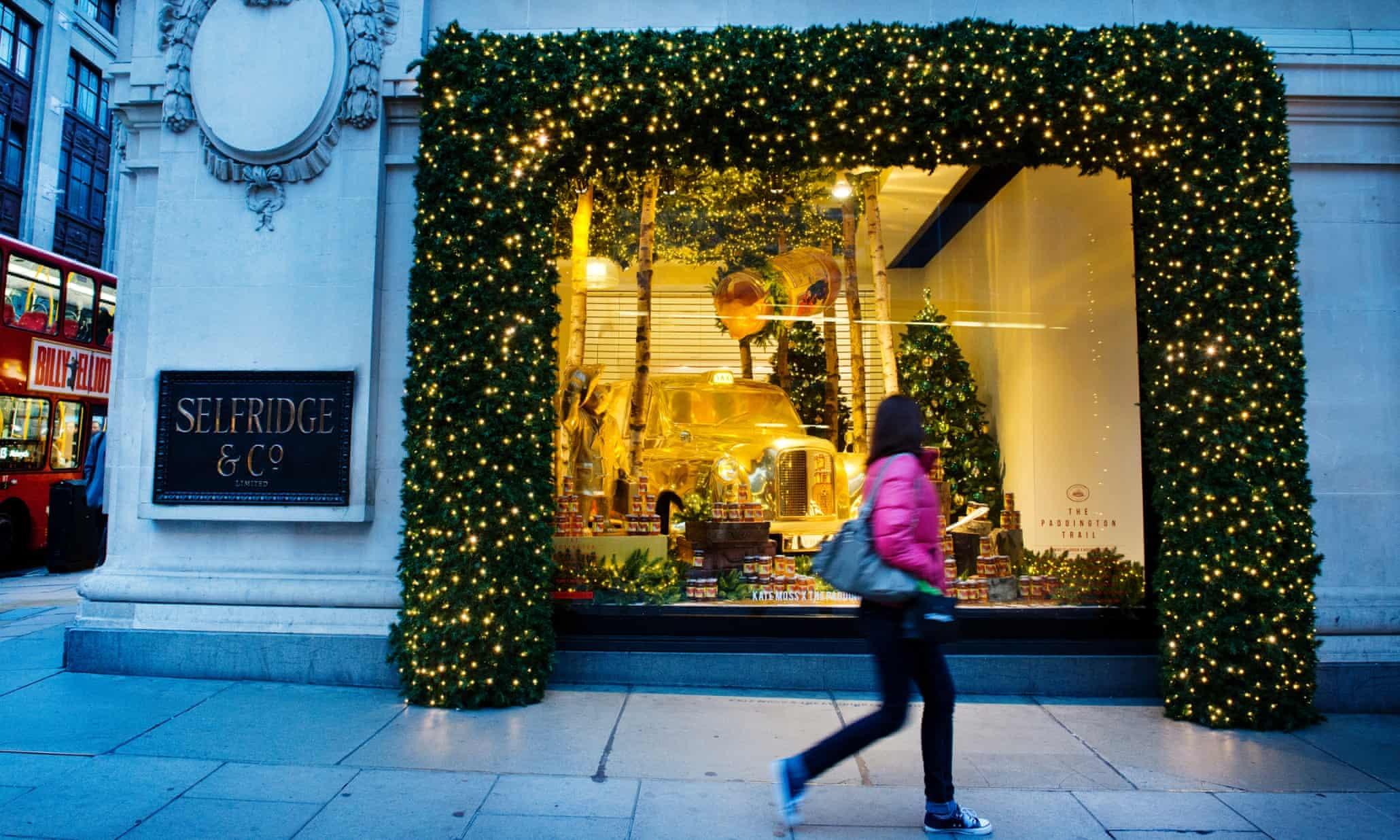 Selfridges' Christmas window displays - in pictures