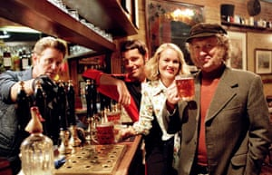 Stardust in 2000, playing the publican in the second serie sof the Grimleys, with Brian Conley, Amanda Holden and Noddy Holder