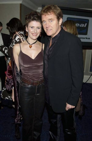 Alvin Stardust with his third wife Julie Paton, 2003