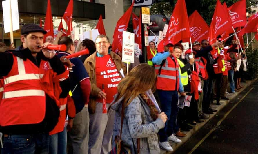 St Mungo's Broadway strike