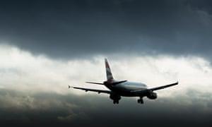 British Airways shuttle service from Heathrow landing at Manchester Airport. Photo: Christopher Thomond.