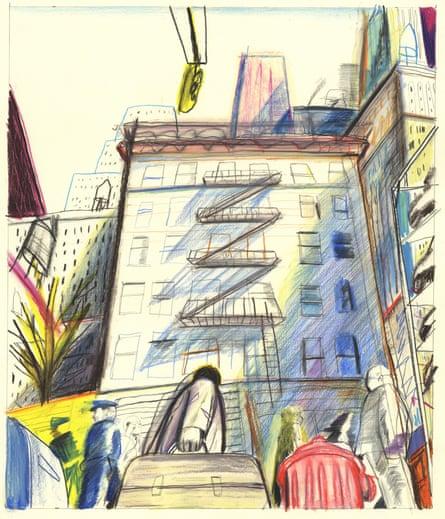 New York illustration Yann Kebbi
