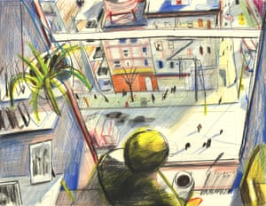 New York illustration landscape