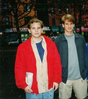 The Freeman brothers in 1996.