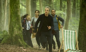 Ruby, Clara, The Doctor and Danny
