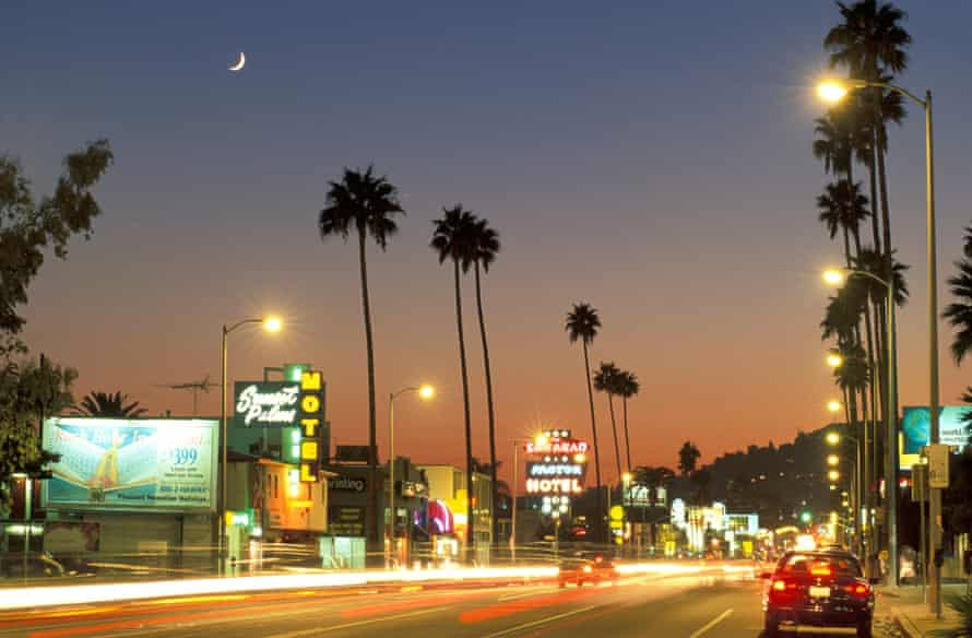 Driving the length of Sunset Boulevard is a must for visitors to LA.