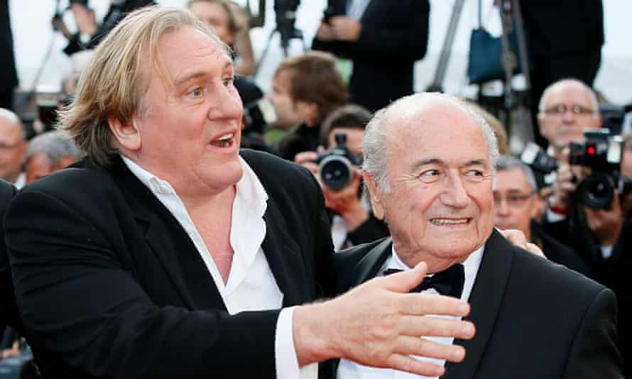 Gérard Depardieu, Sepp Blatter
