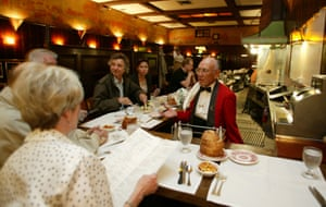 Musso & Frank's, in Hollywood, is a historic restaurant – Charlie Chaplin was a regular.