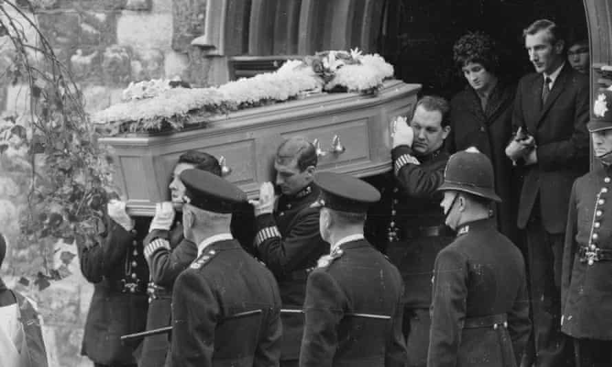Harry Roberts police officers' funeral