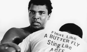 Muhammad Ali, circa 1970.