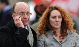 Rupert Murdoch and Rebekah Brooks in 2010.