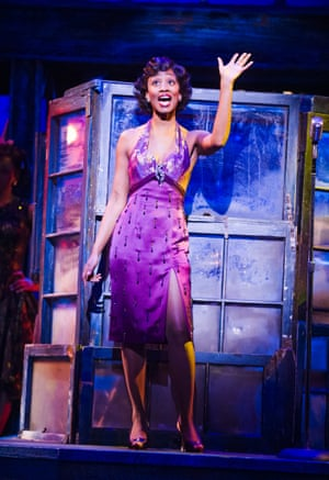 Beverley Knight in Memphis: The Musical.
