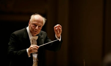 Bernard Haitink conducts Chicago Symphony Orchestra