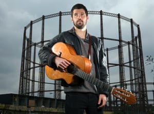 Nick Mulvey photographed by Richard Saker for Observer New Review Mercury Prize