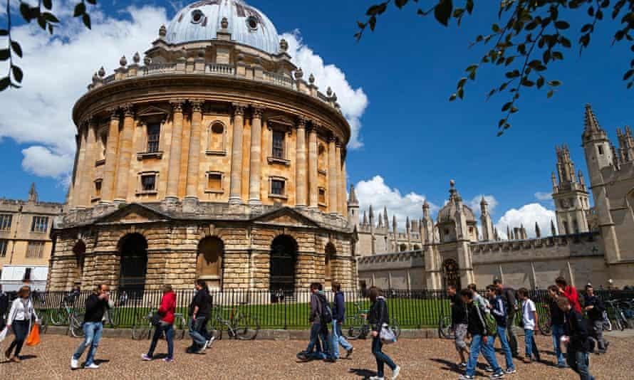 Radcliffe Square Oxford, university