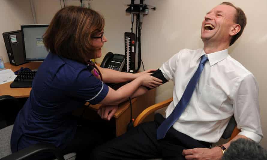 Simon Stevens returning to Consett Medical Centre in County Durham, where he began his NHS career in 1980.