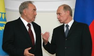 Putin Nazarbayev