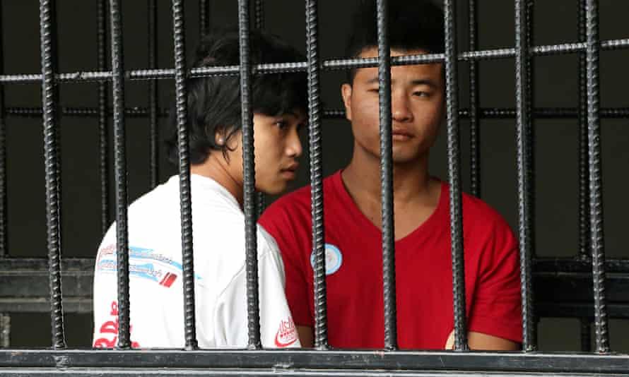 Win Zaw Htun and Zaw Lin