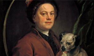 William Hogarth: The Painter and his Pug, 1745.