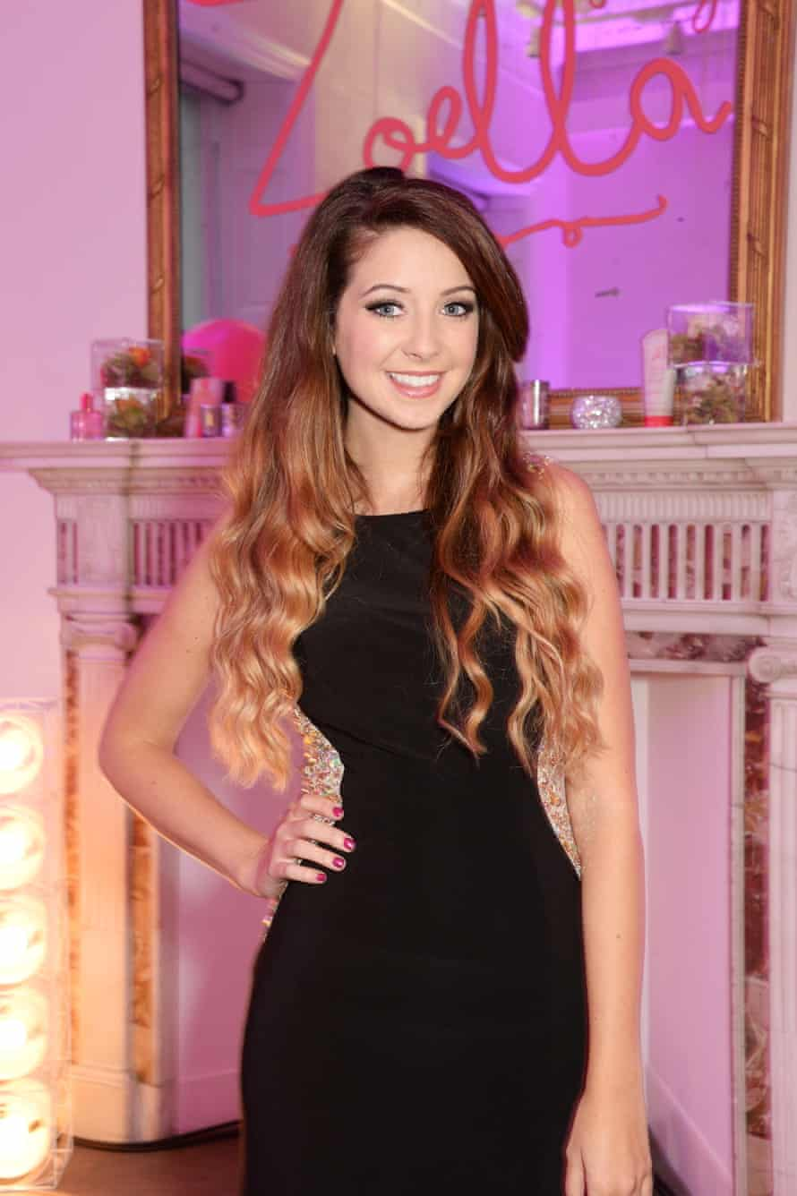 Zoe Sugg's online success led to the launch of her own beauty range this year.