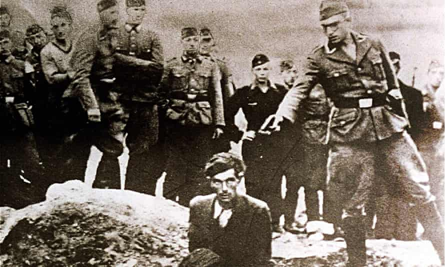 nazi execution photo