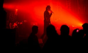 The Horrors onstage at the Pavilion, Worthing.