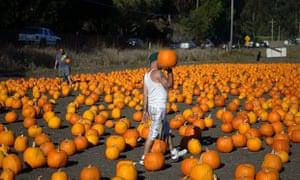 Half Moon Bay, California: the pumpkin capital of the world.