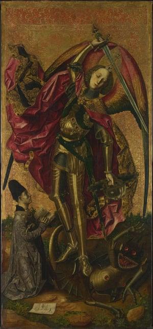 Saint Michael Triumphs over the Devil