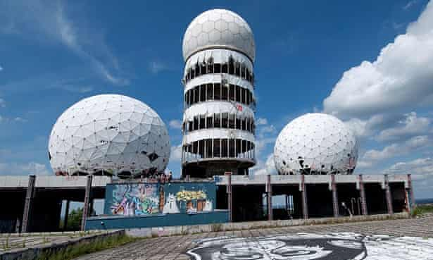 C5YWGA Former US listening station on the top of the hill Devil's Mountain, Berlin Grunewald Forest, Germany