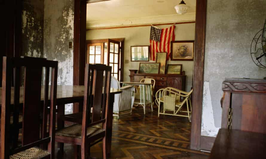 Fordlandia, Brazil --- Henry Ford's Amazon Industrial Experiment: Original furniture in the drawing room in the museum which is housed in one of the former managers' homes in 'Vila Americana'. American automobile pioneer and entrepreneur, Henry Ford, established Fordlandia in the 1920s as an industrial plant to harvest rubber for his cars. The experiment failed after a few years and the factories were closed down, leaving many thousands out of work. In 2005, there were only around 1000 people left living in this Amazonian community.  --- Image by   Colin McPherson/Colin McPherson/CorbisautomobileBrazilbusinessbusinesspeoplecommercedesolateeconomic issuesentrepreneurexperimentingFordlandiaindustryinternational businessLatin Americamotor vehiclenobodyNorth RegionPar  Stateresearchsocial issuesSouth Americaurban decayvehicle