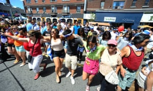 Toronto's Taste of the Danforth festival of Greek culture and food.