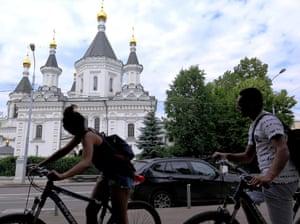 Moscow bike tour