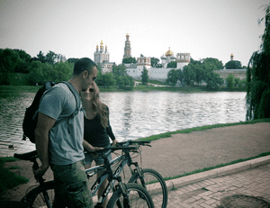 Novodevichy Convent by day.