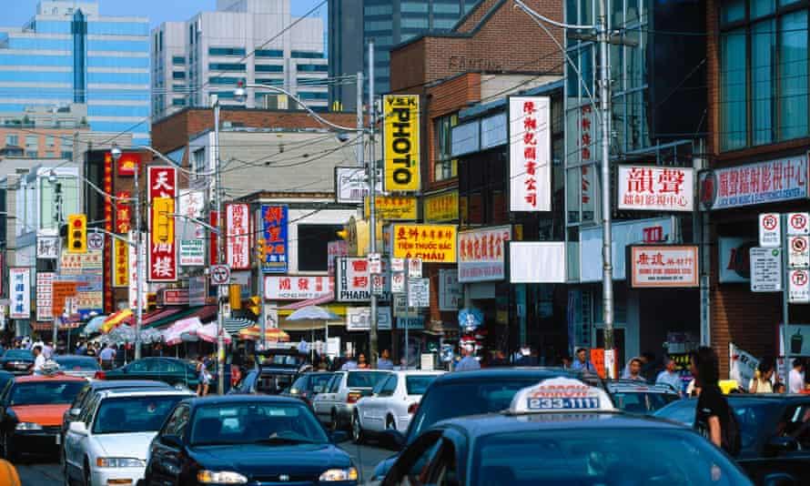 Chinatown in Toronto.