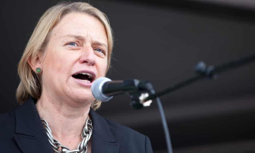 Natalie Bennett, leader of the Green party of England and Wales
