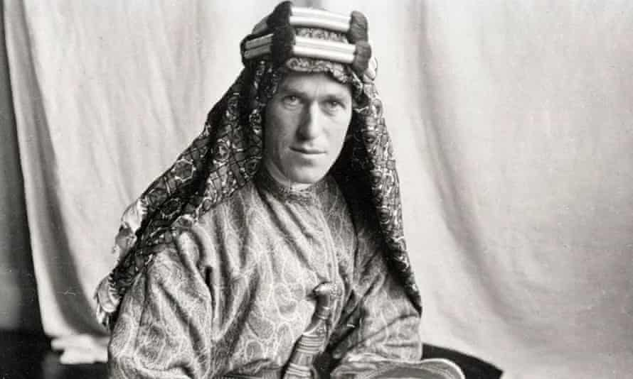 TE Lawrence in about 1917