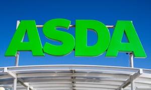 Asda entrance sign