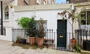 Small is beautiful … the property in Islington that is on the market for £275,000.