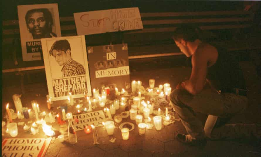 Candlelight Vigil For Matthew Shepard