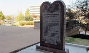 oklahoma city ten commandments