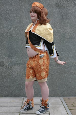 Sunny Strike as Xiao Qiao from Dynasty Warriors at Comic-Con in London.
