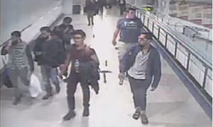 Five of the jihadis