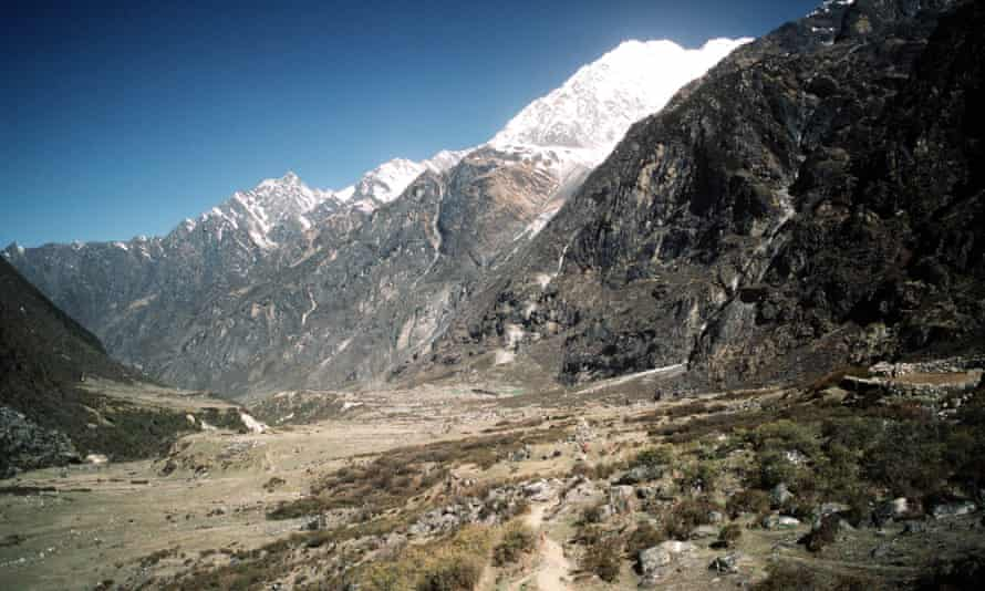 Among the passengers were a group heading for the Langtang trekking area.
