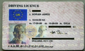 UK driving licence fees fall | Politics | The Guardian