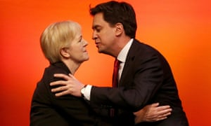 Ed Miliband greets Scottish Labour Leader Johann Lamont at the Scottish Labour party conference earl