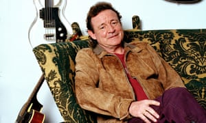 Jack Bruce at home in Suffolk