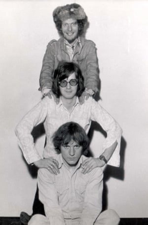 Cream in 1966: Ginger Baker, Eric Clapton and Jack Bruce